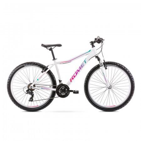 Bicicleta de munte pentru femei Romet Jolene 6.1 Alb/Verde 2021