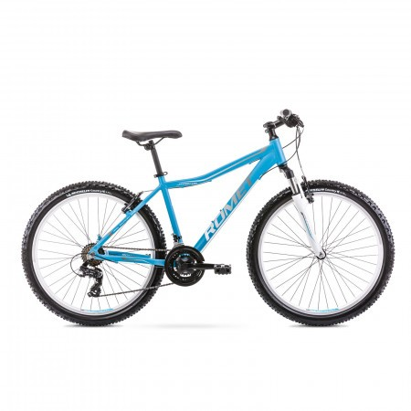 Bicicleta de munte pentru femei Romet Jolene 6.1 Albastru/Gri 2021
