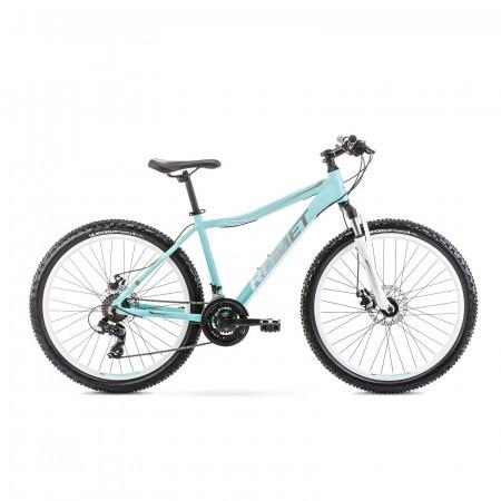 Bicicleta de munte pentru femei Romet Jolene 6.2 Verde/Gri 2021