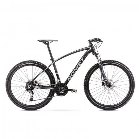 Bicicleta de munte unisex Romet Mustang M7.1 Negru/Gri 2021