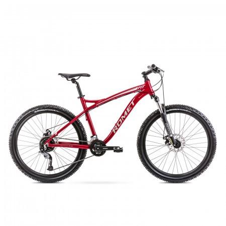 Bicicleta de munte pentru barbati Romet Rambler Fit 26 Bordo/Argintiu 2021