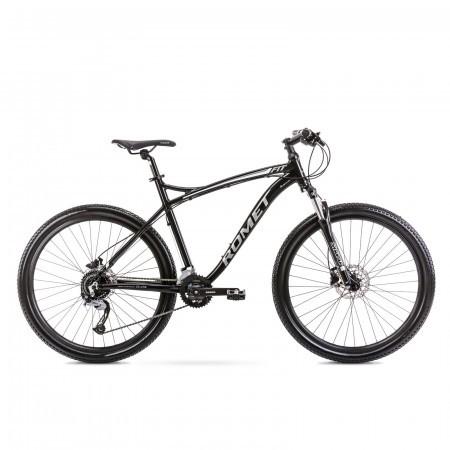 Bicicleta de munte pentru barbati Romet Rambler Fit 27.5 Negru/Argintiu 2021