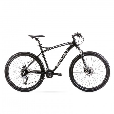 Bicicleta de munte pentru barbati Romet Rambler Fit 27.5 Negru/Argintiu 2022