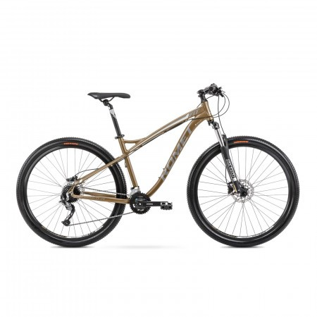 Bicicleta de munte pentru barbati Romet Rambler Fit 29 Auriu 2021