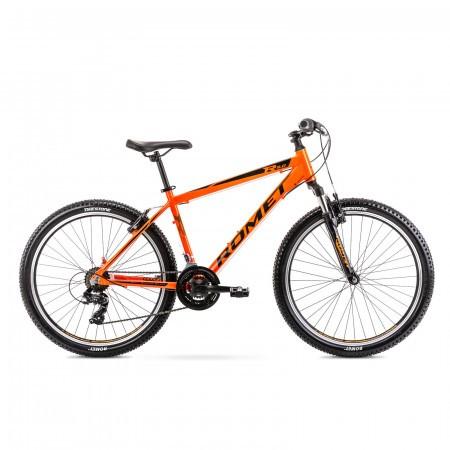 Bicicleta de munte pentru barbati Romet Rambler R6.0 Portocaliu 2021