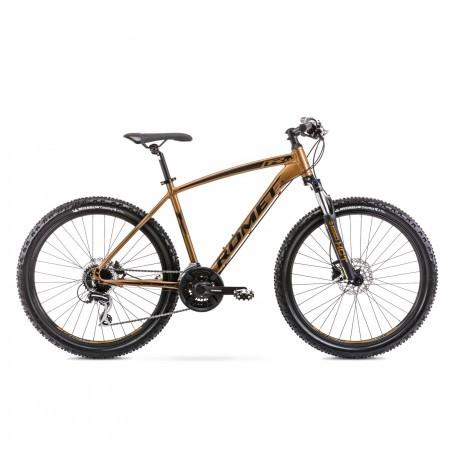 Bicicleta de munte pentru barbati Romet Rambler R6.4 Auriu 2021