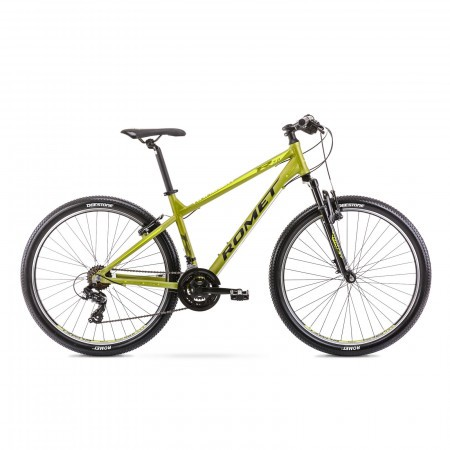 Bicicleta de munte pentru barbati Romet Rambler R7.0 Ltd M/17 Verde oliv 2021