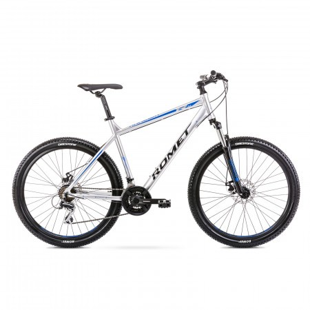 Bicicleta de munte pentru barbati Romet Rambler R7.1 Argintiu 2021