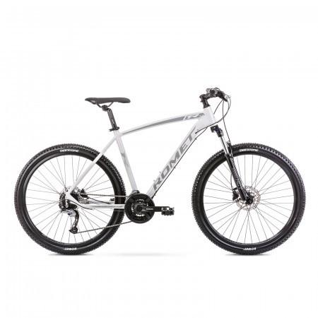 Bicicleta de munte pentru barbati Romet Rambler R7.3 Alb/Gri 2021