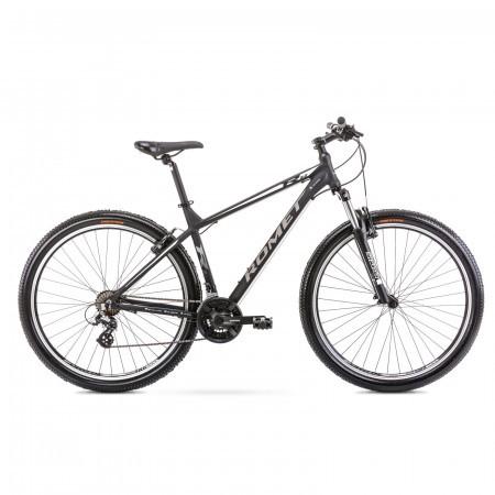 Bicicleta de munte pentru barbati Romet Rambler R9.0 Negru/Alb 2021