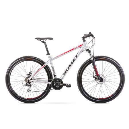 Bicicleta de munte pentru barbati Romet Rambler R9.1 Argintiu 2021