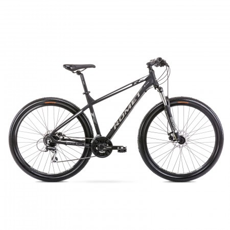 Bicicleta de munte pentru barbati Romet Rambler R9.2 Negru/Alb 2021
