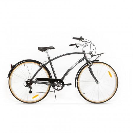 Bicicleta de oras pentru barbati Pegas Popular 7 viteze AluminiuGri Spatial