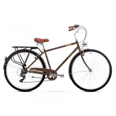 Bicicleta de oras pentru Barbati Romet Vintage M Maro 2019
