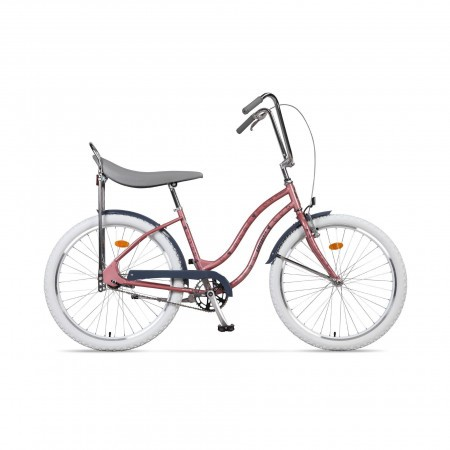 Bicicleta de oras pentru femei Pegas Strada 2 2S Roz Pisici