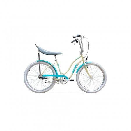 Bicicleta de oras pentru femei Pegas Strada 2 3S Crem Inghetata