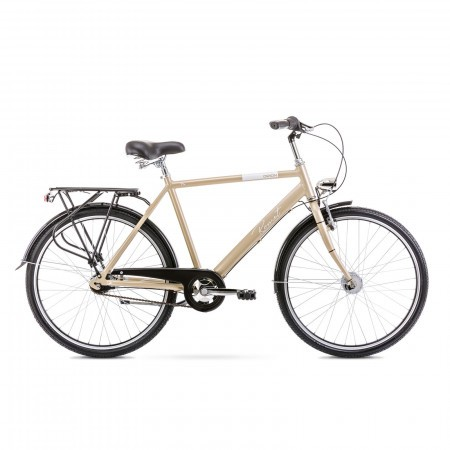 Bicicleta de oras pentru barbati Romet Orion 7S L/20 Bej sampanie 2021