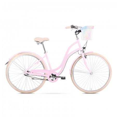 Bicicleta de oras pentru femei Romet Pop Art 28 Eco Roz/Gri 2021