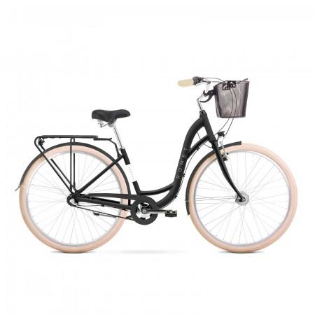 Bicicleta de oras pentru femei Romet Sonata Classic Negru 2021