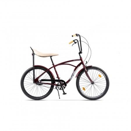 Bicicleta de oras unisex Pegas Strada 1 3S Visiniu Cochet