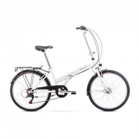 Bicicleta pliabila unisex Romet Jubilat 1 S/15 Alb 2021