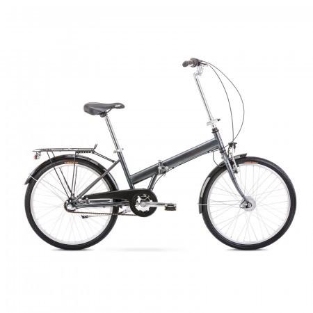 Bicicleta pliabila unisex Romet Jubilat 2 S/15 Grafit 2021