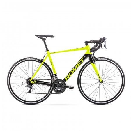 Bicicleta de sosea unisex Romet Huragan 1 Verde lime/Negru 2021
