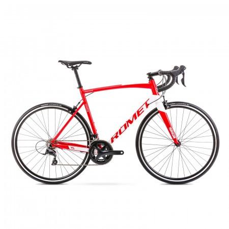 Bicicleta de sosea unisex Romet Huragan 3 Rosu/Alb 2021