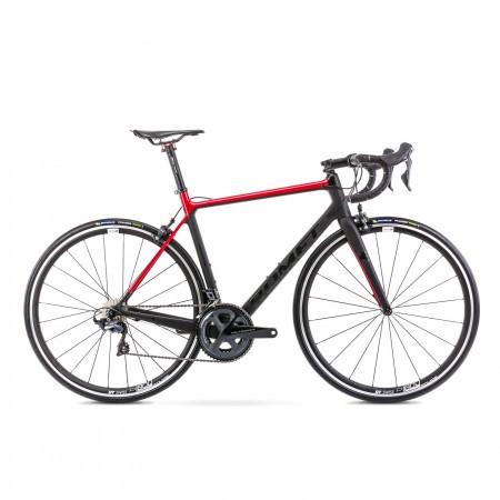 Bicicleta de sosea unisex Romet Huragan Crd Team Negru/Rosu 2021