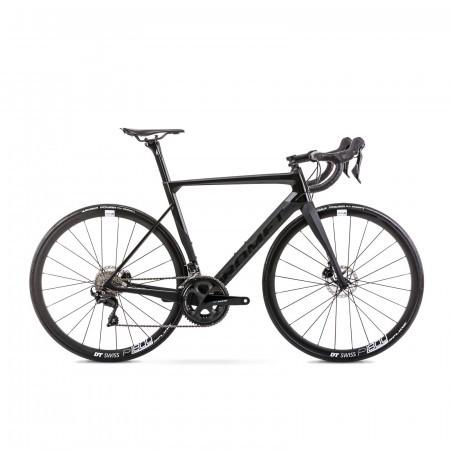 Bicicleta de sosea unisex Romet Huragan Disc 1 Negru 2021