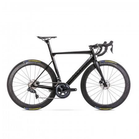 Bicicleta de sosea unisex Romet Huragan Disc 2 Negru 2021