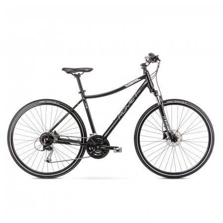 Bicicleta de trekking pentru femei Romet Orkan 5 D Negru 2021