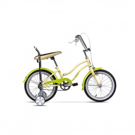 Bicicleta pentru copii Pegas Mezin 2017 F Crem Inghetata