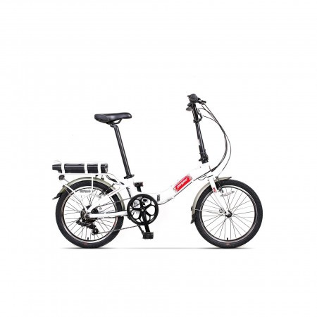 Bicicleta pliabila unisex Pegas Camping Dinamic 7S Alb