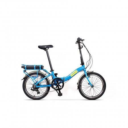 Bicicleta pliabila unisex Pegas Camping Dinamic 7S Albastru