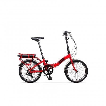 Bicicleta pliabila unisex Pegas Camping Dinamic 7S Rosu