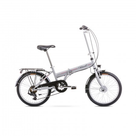 Bicicleta pliabila unisex Romet Wigry 1 XS/13 Argintiu 2021