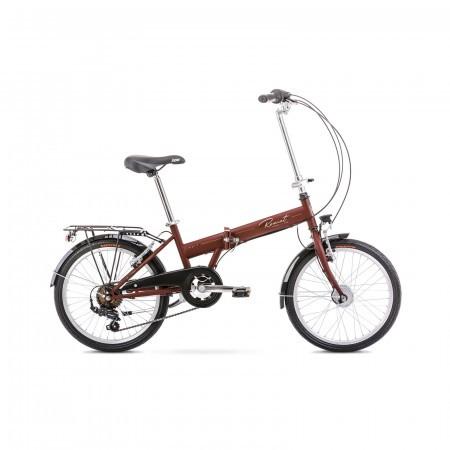 Bicicleta pliabila unisex Romet Wigry 1 XS/13 Maro 2021