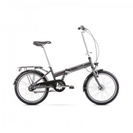 Bicicleta pliabila unisex Romet Wigry 4 XS/13 Grafit 2021