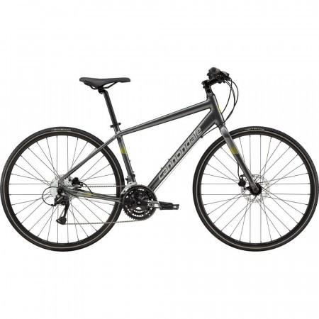 Bicicleta urbana pentru barbati Cannondale Quick 5 Gri 2019
