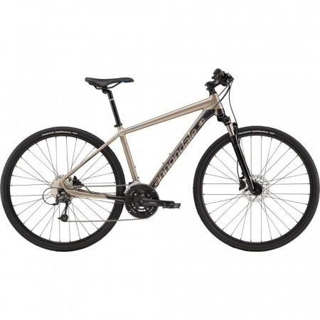 Bicicleta urbana pentru barbati Cannondale Quick CX 3 Grafit 2019