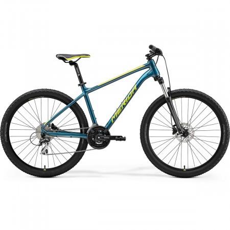 Bicicleta de munte pentru barbati Merida Big.Seven 20 Albastru Turcoaz/Lime 2021