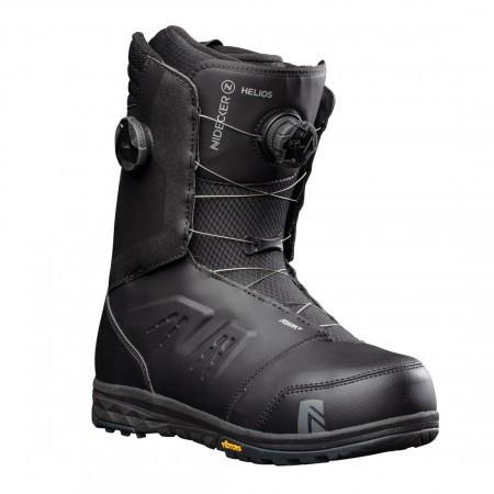 Boots snowboard Barbati Nidecker Helios Focus Boa Negru 20/21