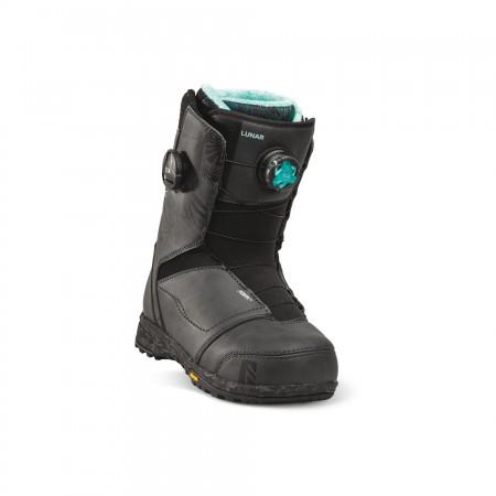 Boots snowboard Femei Nidecker Lunar Hybrid Boa Coiler Negru 20/21