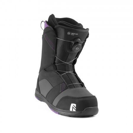 Boots snowboard femei Nidecker Maya Boa Negru 2020