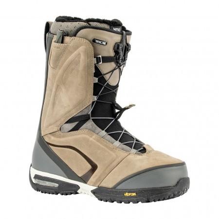 Boots snowboard barbati Nitro El Mejor TLS Bej/Negru 19/20