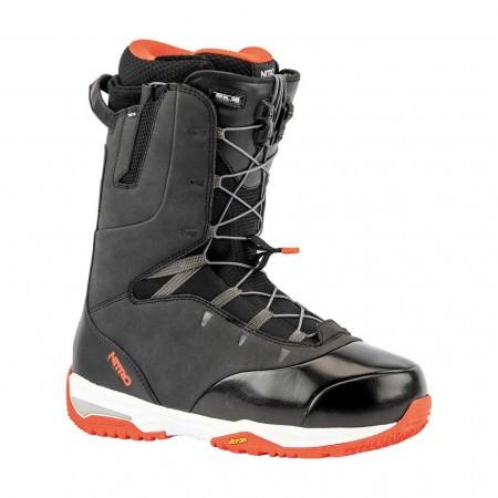 Boots snowboard barbati Nitro Venture Pro TLS Negru/Rosu 19/20
