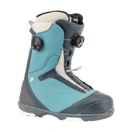 Boots snowboard femei Nitro Cypress Dual BOA Albastru/Gri 19/20