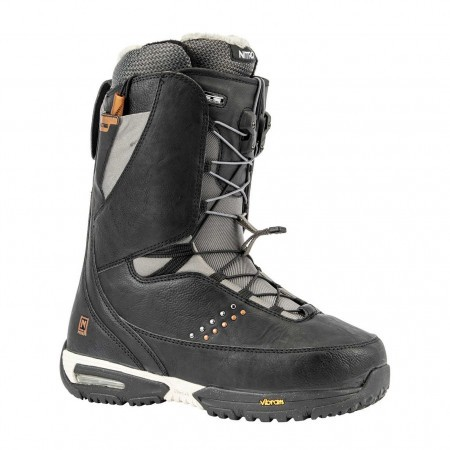 Boots snowboard femei Nitro Faint TLS Negru/Gri 19/20
