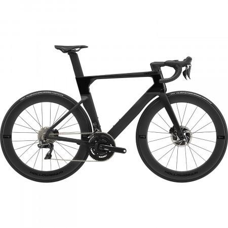 Bicicleta de sosea Cannondale SystemSix Hi-MOD Dura Ace Di2 Negru 2020